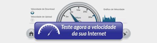 Teste agora a velocidade da sua Internet